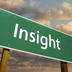 Image of road sign with the word Insight